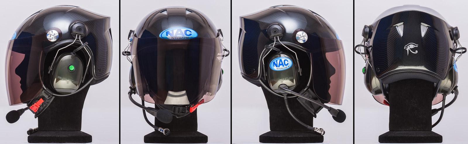 Horus Helm Imitatie Carbon