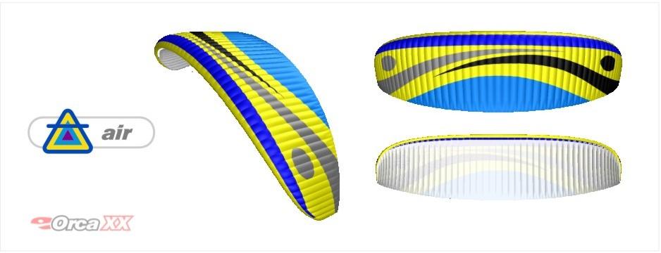 Dudek Paraglider Wind