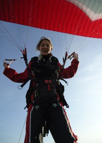 Introductie paramotorschool Skydance