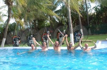 Skydance paramotor tour Brazilië maart 2010