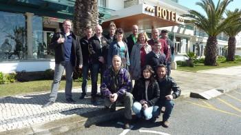 Skydance paramotor tour Portugal maart 2012