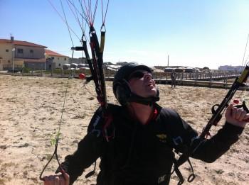 Skydance paramotor tour Portugal september 2012