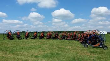 Onze Skydance Flandersdag Belgie mei 2014