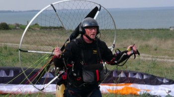 Skydance paramotor tour Griekenland april 2015