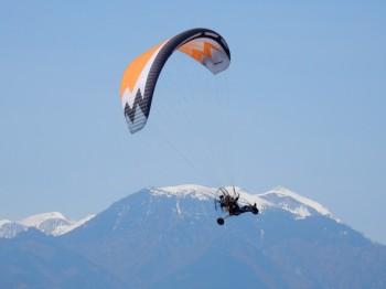 Skydance paramotor tour Griekenland april 2016